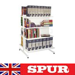 Spur LIbrary Shelving DS2 Gondola Freestanding Shelves