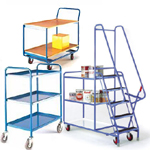 Tea Trolley | tier trolleys | order picking trolleys | tray trolleys