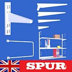 Spur Shelving | Spur Steel-Lok Brackets | Cantilever  Wall Mounted & steel wall  mounted shelves