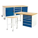 Bott workshop and production work benches & workstands