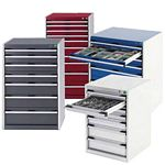 Bott Cubio Engineers workshop tool storage cabinets Bott full extension drawers