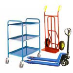Trolleys | Industrial trolleys | picking trolleys  | forklift trailers | platform trolleys | manual handling | pallet trucks