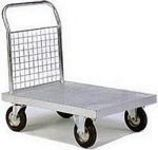 Galvanised and zinc plated sack trucks and trolleys